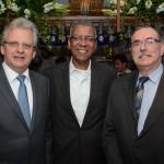 Edmar Bull, da Copastur, Reifer Souza, da Alatur JTB, e Antonio Luiz Cubas de Souza, da Sobratur