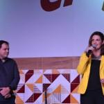 Eduardo Busch, CEO da Passaredo e Eliana Cassandre, do Grupo Petrópolis