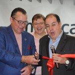 Embora baseado em SP, o diretor de Vendas da American no Brasil, Dilson Verçosa, veio ao RJ para inaugurar o escritório