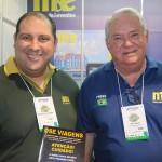 Emerson Oliveira, da DSE Viagens, e Roy Taylor, do M&E