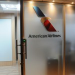 Entrada do novo escritório da American