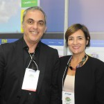 Enzo Avezum e Silvana de Oliveira, da Rida International