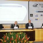Eric Barbosa, da Marinha, Rene Hermann, da Costa, Gustavo Martins, da Conapra, e Mario Povia, da Antaq
