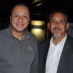 Fabiano Santos, da American, com Flavio Correa, da Flytour Gapnet