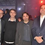 Fabio Mader, da CVC, Guilherme e Marcelo Paolillo, da Flytour, e Eduardo Bernardes, da Gol