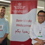 Fernando Trindade, da Monarch Travel, e Cesar Alruiz, da Royal Air Maroc