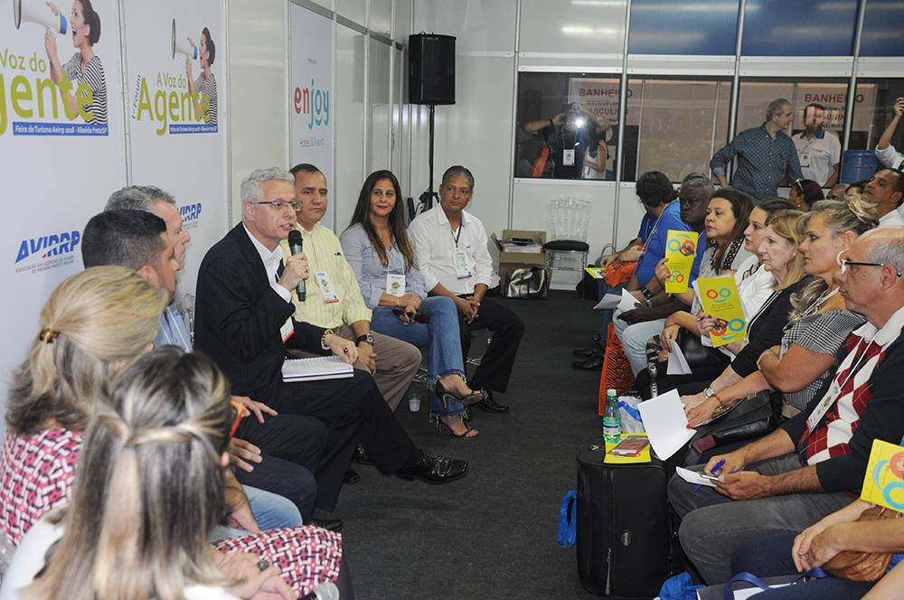 Forum A Voz do Agente movimentou o segundo dia de Avirrp 2018