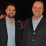 Gustavo Adams, da Consolidadora Confiança, e Samuel Molina, da Decolar.com