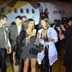 Influenciadores chegaram ao evento em voo personalizado da Passaredo