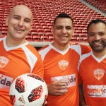 Jamyl Jarrus e Willian Nascimento, da Movida, Peterson Prado, da Avipam