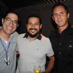 Jardel Almeida, da Trend, Valterson Gonçalves, da Premier Tour, e Gustavo Santos, da GMS Tour