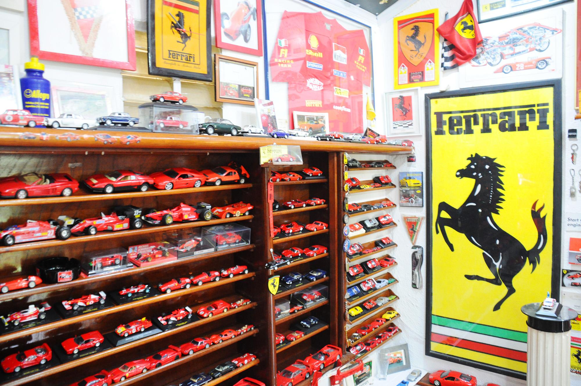 José Augusto é um grande apaixonado pela Ferrari