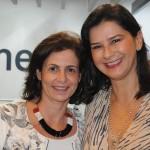 Karla Haimenis, do Grupo High Light, com Simone Sá, da American Airlines