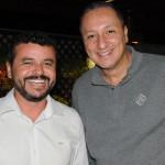 Leandro Lustosa e Fabiano Santos, da American