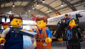 Personagens de Lego Movie estrelam novo vídeo de segurança da Turkish