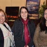Magali Vendito, da Cassiatur, Erika Cestarolli, da Cestarolli Travel, e Juliana Dias, da Atlantic Connection Travel