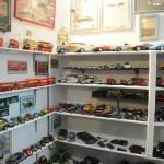 Mais de 6.000 peças se espalham pelas cinco salas do museu