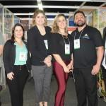 Michelle Tavares, diretoria de Vendas SP, Sul e Norte (centro), com equipe Nobile Hotéis