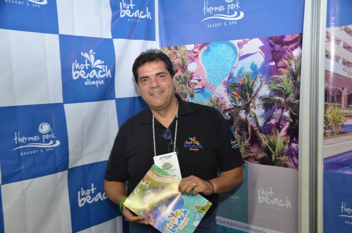 Monzart Coelho, gerente comercial do Hot Beach Olímpia