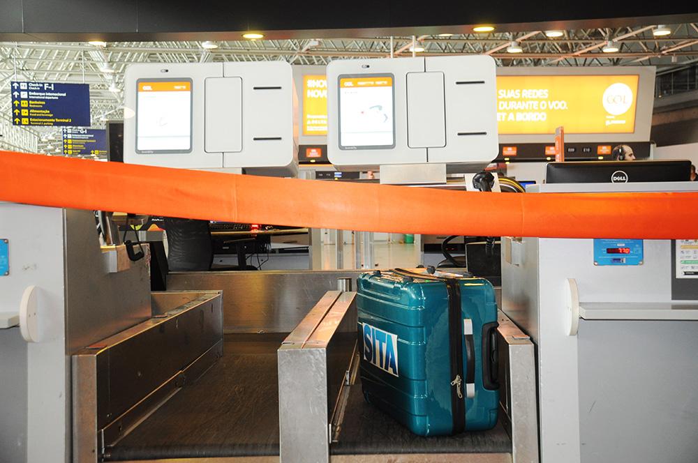 Gol lança serviço para despacho de bagagem no Aeroporto de Guarulhos
