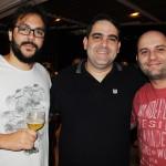 Pedro Vieira, da Sabiá Turismo, Alexandre Veras, da Live Viagens, e Délio Coelho, da Ártico American
