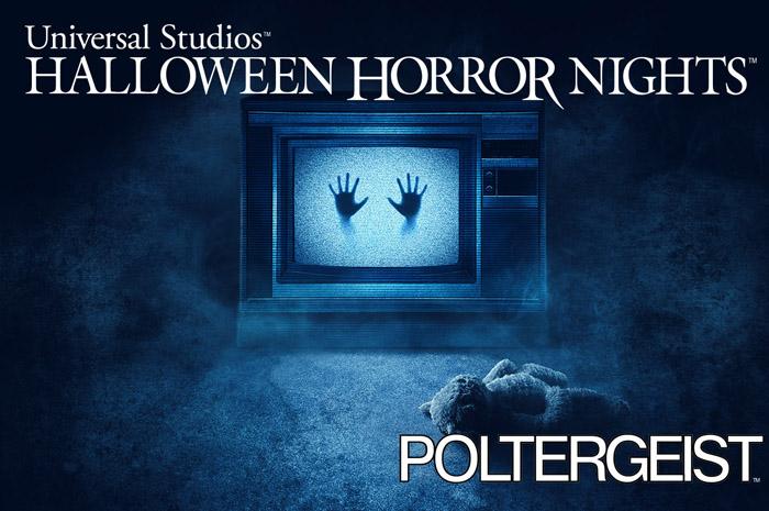 Poltergeist estará enttre as atrações do Halloween Horror Nights