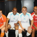 Reynildo Correa, da Solari Turismo, César Sampaio, Roberto Barcelar, do Clube Montreal, e Marcos Assunção