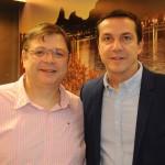 Ricardo Silva, da American, e Ricardo Werwie, da RBW Travel