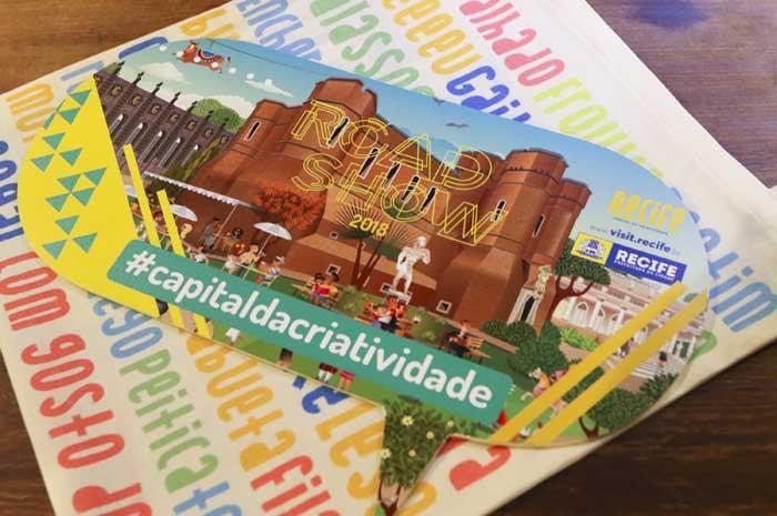 O Road Show Recife: capital da criatividade estará em Salvador nesta semana