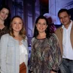 Roseane Coelho, da Telefonica, Janaina das Flores, do Itaú, Bianca Schimpl, da Latam, e Marcelo Naoto, da Vexia