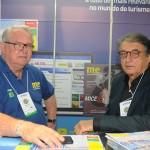Roy Taylor, do M&E, e Arialdo Pinho, secretário de Turismo do CE