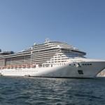 MSC Splendida será o terceiro navio com Yacht Club no Brasil
