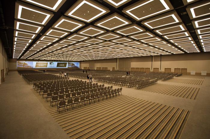 Salão Monumental configuração auditorio do Royal Palm Hall