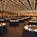 Salão Monumental do Royal Palm Hall possibilita inúmeras mudanças de layout