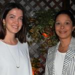 Sarah Ferreira e Patrícia Lacerda, da American
