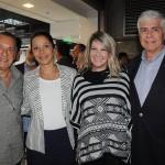 Sergio Fernandes, do Nice Via Apia, Patrícia Lacerda, da American, Viviane Fernandes, do Nice Via Apia, e Kaká, da Ancoradouro