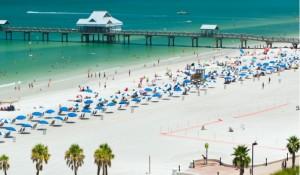 St. Pete/Clearwater revela praia premiada dos EUA no Hiper Feirão Flytour