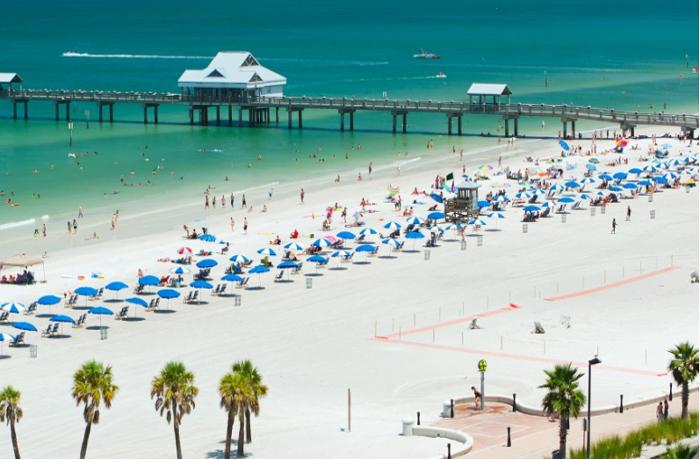 Praia da região foi eleita a melhor dos EUA (Foto: Site Oficial VisitFlorida)