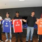 Times foram definidos ainda no hotel da concentração pelos ex-jogadores que foram os capitães de cada equipe