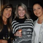 Viviane Fernandes, do Nice Via Apia, entre Ana Paula Schuch e Patrícia Lacerda, da American
