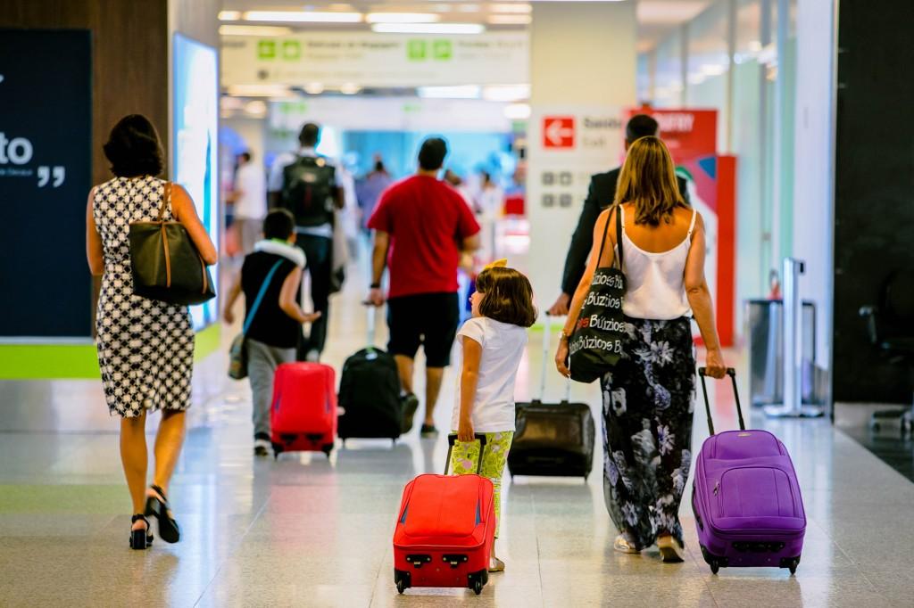 aeroporto movimentação inframerica