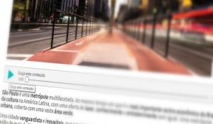 Visite São Paulo oferece acessibilidade em áudio para seu site