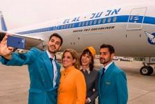 EL AL celebra 70 anos com direito a novo B787-9 de pintura retrô