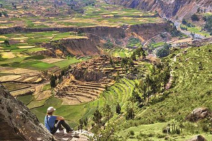 Atrativos de Aventura e Natureza na região de Arequipa, no Peru. Foto: Divulgação / PROMPERÚ.