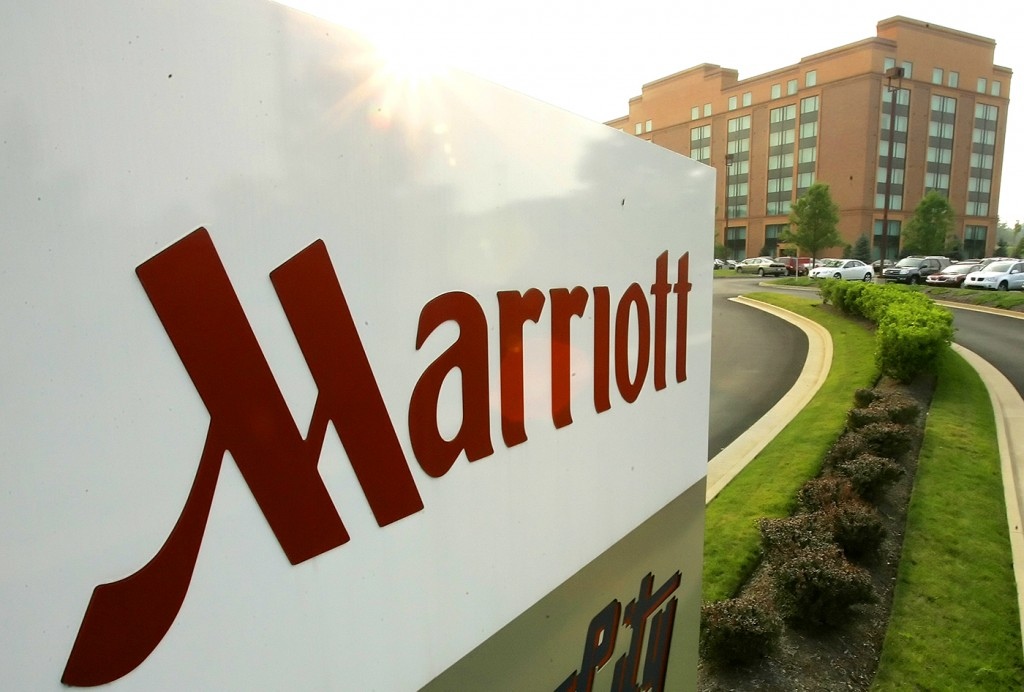 The Marriott in Cranberry, Pa., is shown on Wednesday July 11, 2007. Hotel operator Marriott International Inc. said Thursday July 12, 2007 that its second quarter earnings rose 11 percent on strong demand for rooms and gains in fees paid by franchisees. (AP Photo/Gene J. Puskar)