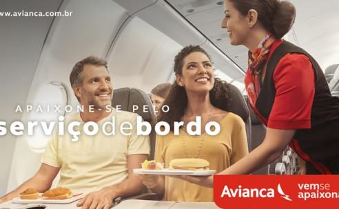 Em nova campanha, Avianca Brasil convida clientes a se apaixonarem