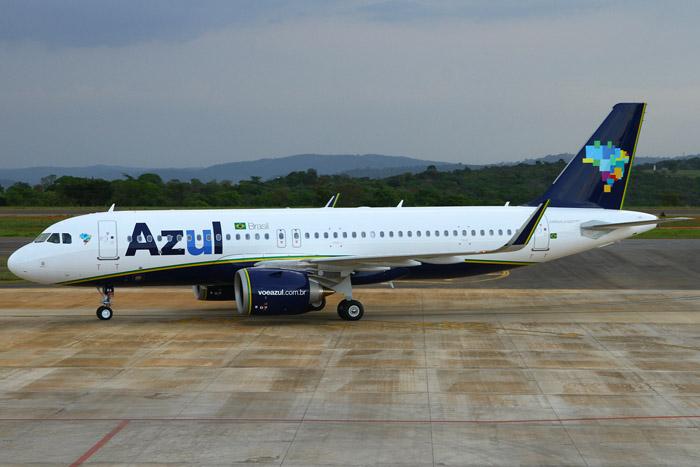 17ª aeronave modelo A320neo chegou ao Aeroporto de Belo Horizonte neste fim de semana (Foto: divulgação)