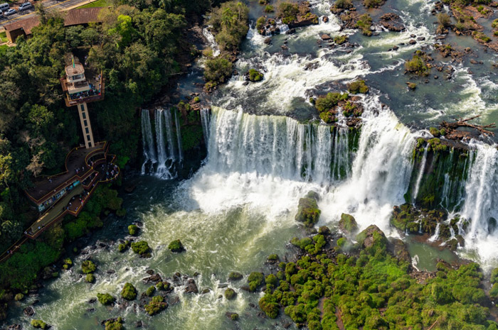 Mais de 99% dos visitantes de Foz do Iguaçu se mostraram satisfeitos