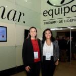Adriana Paiva e Hyana Araujo, do Grupo Nobile