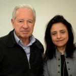 Afonso Louro, da Visual, e Monica Samia, da Braztoa